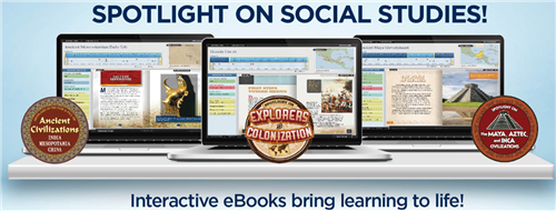 Rosen interactive ebooks spotlight on social studies