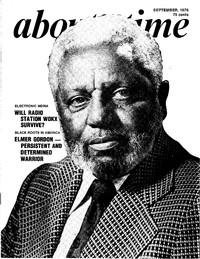 Elmer Gordon as he appeared on the September 1976 cover of About Time magazine.