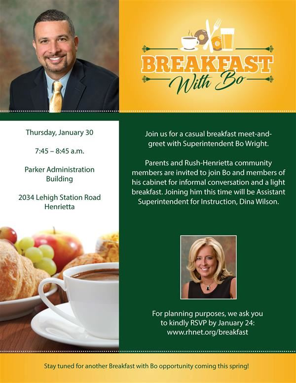 Breakfast with Bo January 30