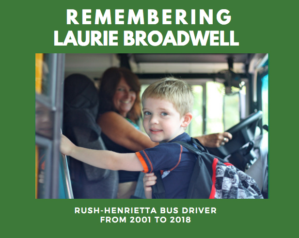 Remembering Laurie Broadwell, R-H Bus Driver