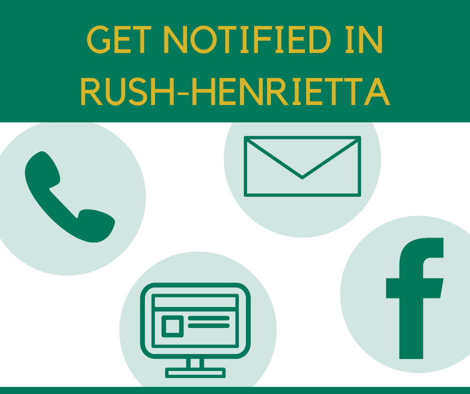 Get Notified in Rush-Henrietta