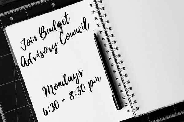 Join Budget Advisory Council