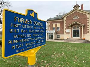 Old Rush High School