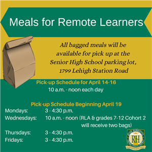 Meals for Remote Learners