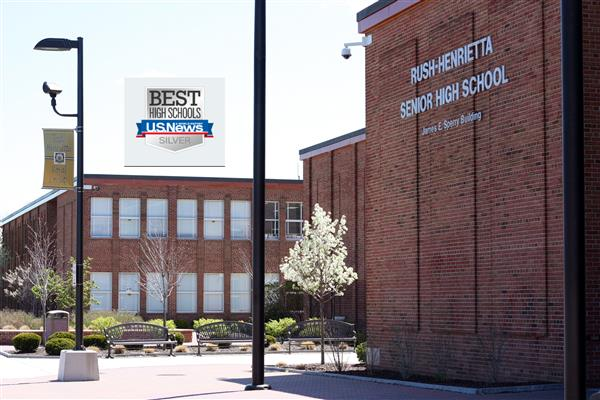 Rush-Henrietta Senior High School Receives National Recognition