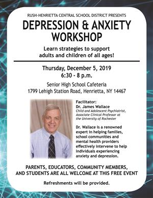 Depression and Anxiety Workshop