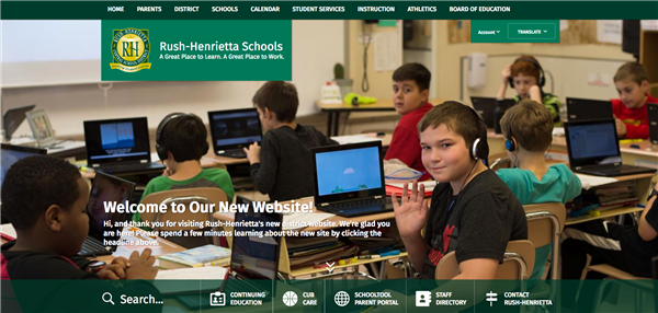 New District Website