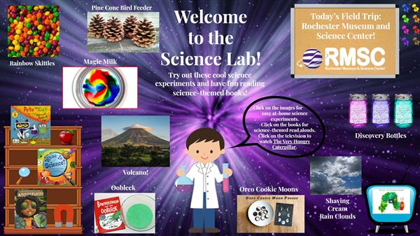 Virtual Science Night Links to Activities